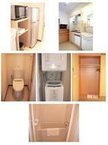 ツイン・ダブル・ファミリールームはキッチン付き