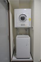 【Casa客室】全自動乾燥機付洗濯機