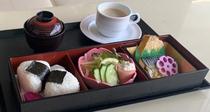 朝食弁当(味噌汁・コーヒー付き)500円