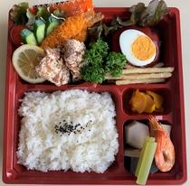 夕食弁当(ハンバーグ入り)1500円
