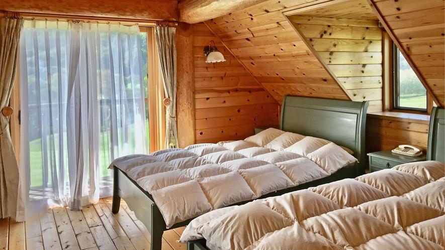 【ログハウス】TYPE-B※2階寝室イメージ