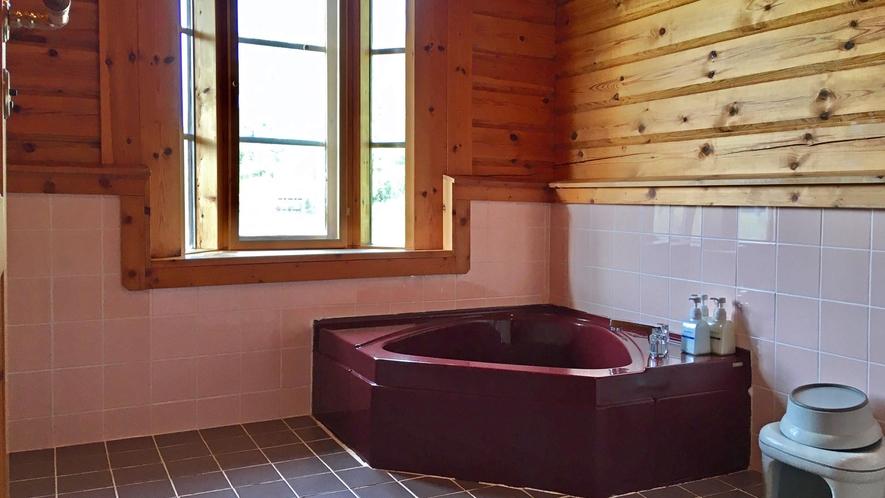 【ログハウス】TYPE-B※1階浴室イメージ