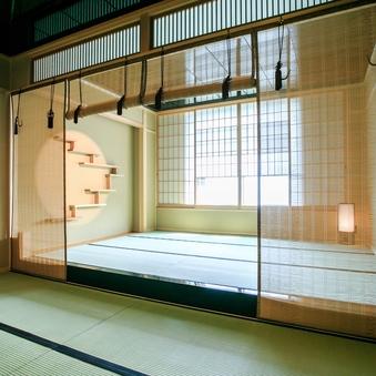 【夜景側/モダン和室34平米】和を感じる特別な設え/禁煙