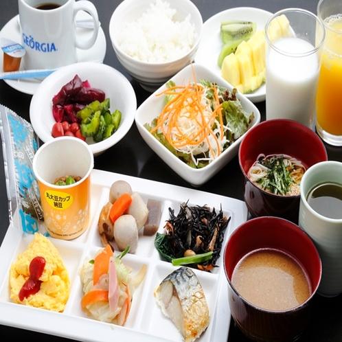 無料朝食イメージ 和食