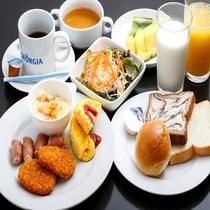 無料朝食イメージ 洋食