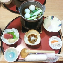 *【ご夕食・湯治プラン用】身体にやさしい和食膳をご用意いたします。