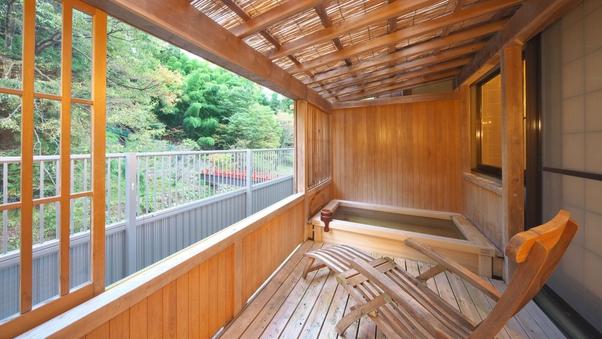 【本館 清流の館】温泉露天風呂付き和室10畳(お子様不可)