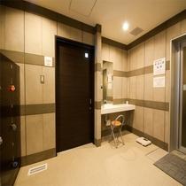 ◆温泉脱衣室