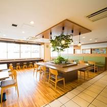 ◆ロハスラウンジ★朝食コーナー