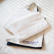 ★温泉には客室のタオルをもってお越し下さいませ♪