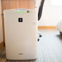 ★全室に加湿機能付き空気清浄機がございます♪
