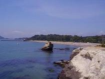 前浜海水浴場