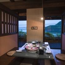 個室(海側一例)イメージ