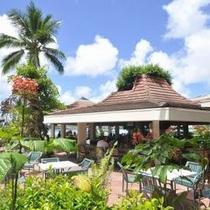 【ツリーバー】プールサイドバーで潮風を感じながら豊富な軽食やお飲み物をお楽しみ下さい