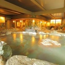 地下1階 岩風呂
