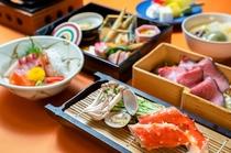 2020年~2021年冬 タラバ蟹や旬菜の蒸し料理とローストビーフ