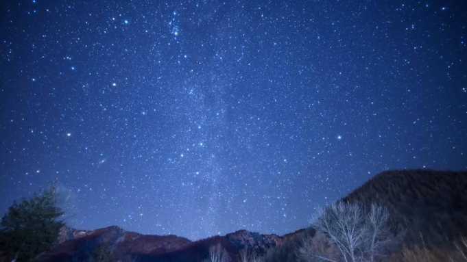 【秋の星空ツアープラン】日本一高い場所にある浄土平天文台まで送迎付!(2食付)