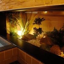 男性大浴場 癒しの坪庭