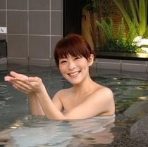 大浴場(イメージ①)戸隠の高波動湧水で温泉気分♪