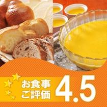 朝食口コミ4.5
