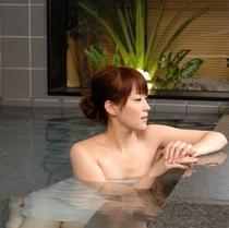 大浴場(イメージ②)戸隠の高波動湧水で温泉気分♪