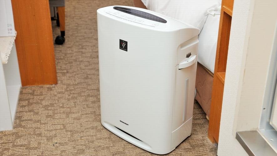 加湿器付空気清浄機(北館全室&禁煙ツイン&禁煙ダブル)