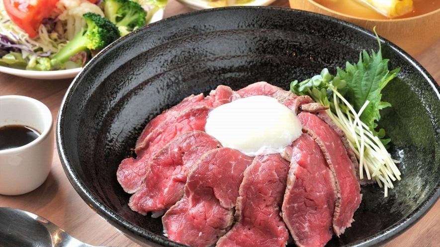 夕食メニュー ローストビーフ定食
