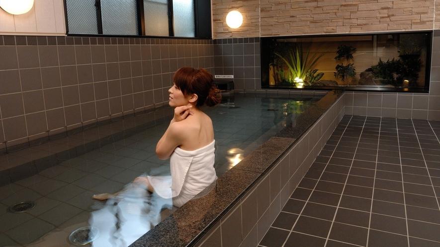 大浴場 ※イメージ 戸隠の高波動湧水で温泉気分♪