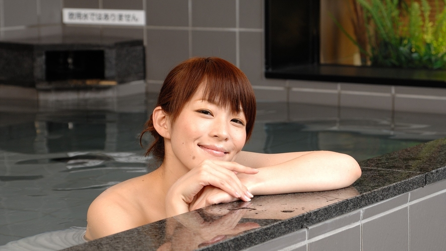 大浴場 ※イメージ 『かぼちゃの湯』でお肌はつるつる、しっとりです♪