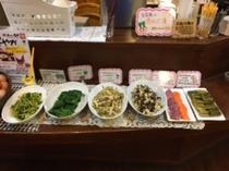 春の山菜フェア 旬の山菜がお召し上がりになれます♪