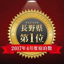 H29.4月 楽天送客件数 長野県1位獲得