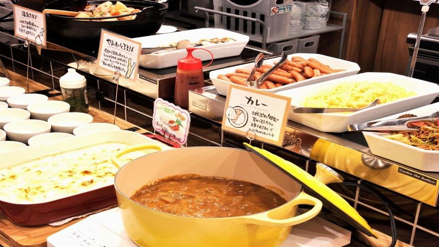 朝食バイキング 朝カレー
