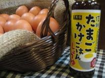 新米フェア 卵かけごはん(地元正田しょうゆさんの「たまごかけごはんしょう油」)