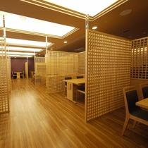 <日本料理 「はりま」テーブル席>夕食:17:30~22:00(L.O.21:00)