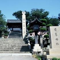 <廣峯神社>姫路市広峰山 山頂の神社です。当ホテルより車で約30分 ※提供 姫路市