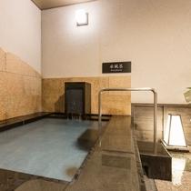 <天然温泉 華楽(かぐら)の湯>水風呂 高温サウナ・ミストサウナと併せてご利用下さい。