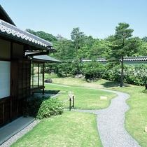 <好古園>茶の庭 ※提供 姫路市