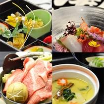 料理4種スキヤキ