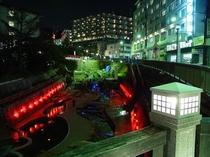 太閤橋-夜