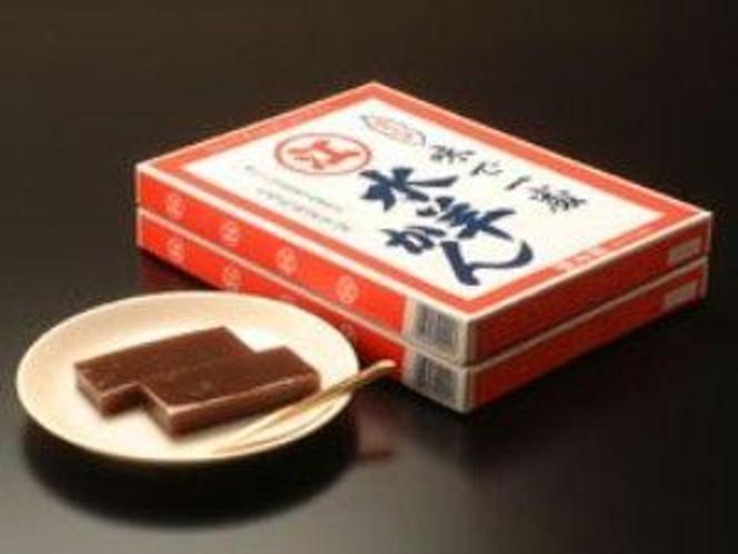 福井・冬期間限定販売の銘菓【水ようかん】