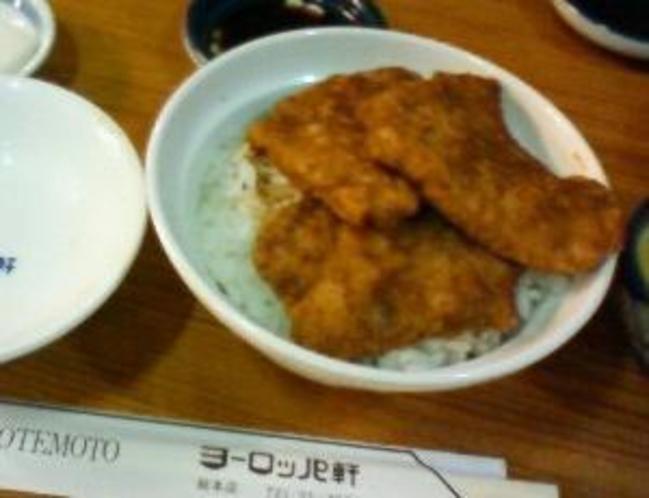 福丼県にきたらこれを食べなきゃ!【ソースカツ丼】