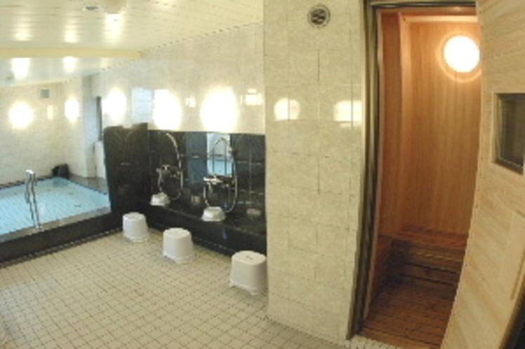 大浴場(ミニサウナ室完備)
