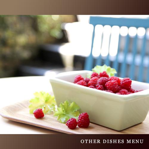 【お食事一例】摘みたてラズベリー