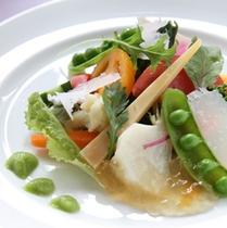 自家製サラダの一例
