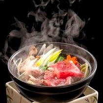 伊賀牛の小鍋。
