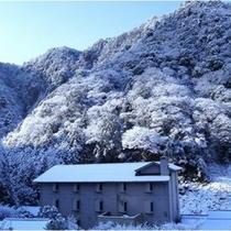 雪景色■稀に見ることができる景色