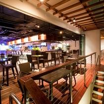*落ち着いた雰囲気のホテル内レストラン