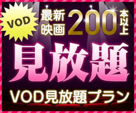 【VOD見放題!】お部屋でのんびり過ごそうプラン シングル1泊6,500円【お得!】