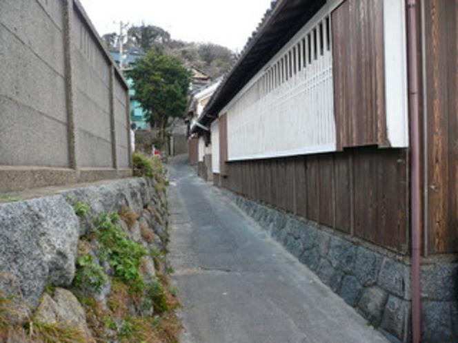 篠島の路地