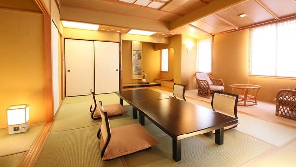 【和室12畳+6畳】二間続きのゆったり空間 ■禁煙2〜7名
